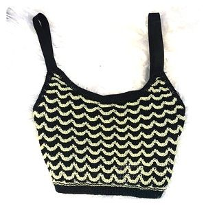 Zara knitwear collection knitted crop top